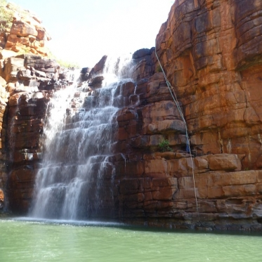 small kimberley waterfall